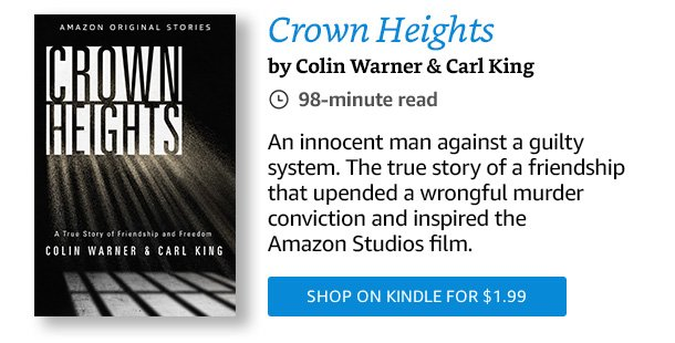 """Read """"Crown Heights"""" now."""