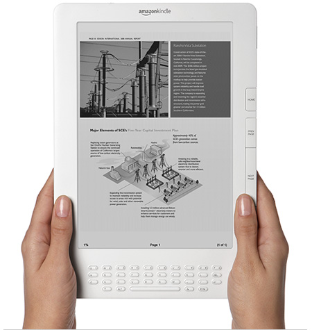Amazon Kindle DX Free 3G Last