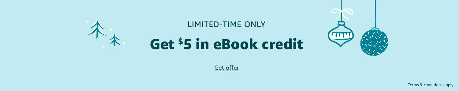 Limited-time only | Get $5 in eBook credit | Get offer