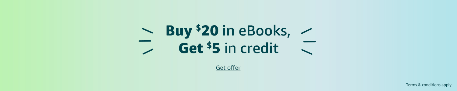 Get $5 in eBook credit | Get offer