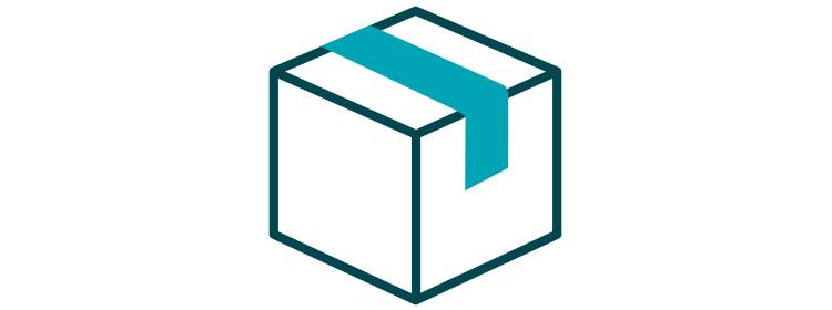Shipment box icon