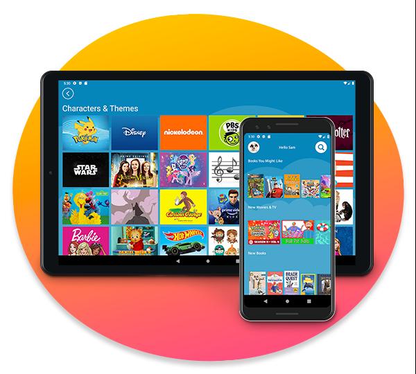 Amazon Kids+ on Android