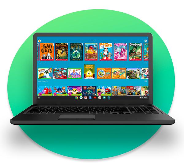 Amazon Kids+ on Chrome OS