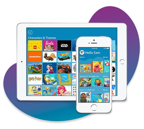 Amazon Kids+ on iOS