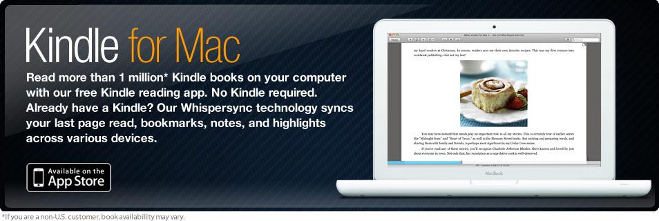 Amazon Com Kindle For Mac App Store Read Kindle Ebooks On Your Mac