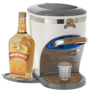 The Margaritaville Chillin' Pour Liquor Chiller