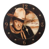 13 1/2-Inch Decoupage Wall Clock
