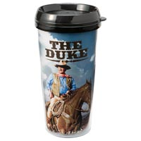 16-Ounce Plastic Travel Mug