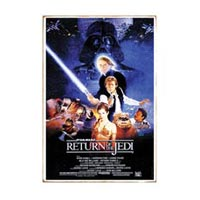 Star Wars Return of the Jedi Heavy Gauge Sign