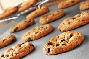 Mix cookie dough