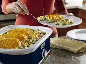 Crock-Pot Casserole Crock Slow Cooker