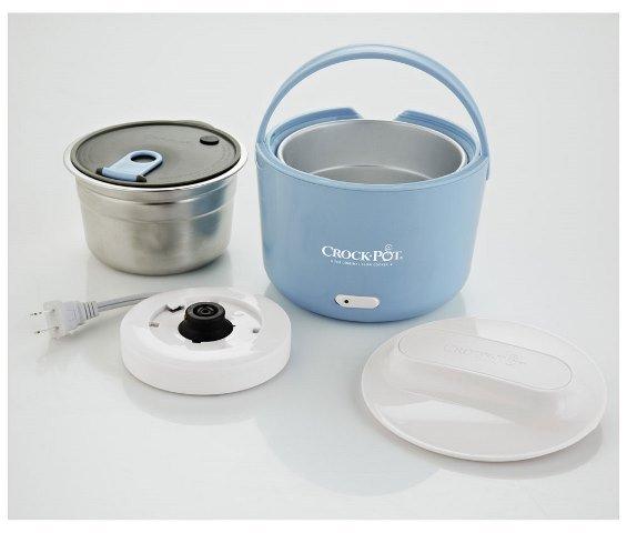 Food Warmer Box ~ Crock pot lunch food warmer heater box container ebay
