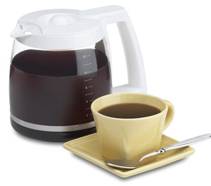 dcc1200w Carafe with Cup. V199163053  ESBIT COFFEE MAKER (Second Review)