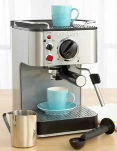 The Cuisinart EM-100 espresso maker