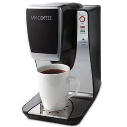 The Mr. Coffee single serve brewing system