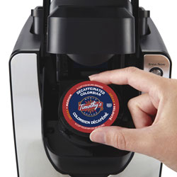 1. Insert a K-Cup