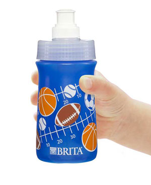 Child-friendly, easy-to-use squeezable bottle