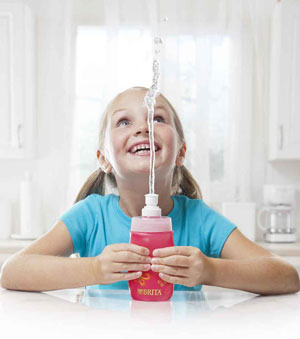 Get kids involved in making their own great tasting water