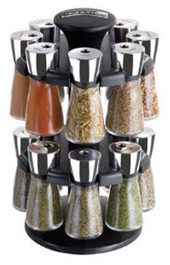Cole and Mason 16 jar spice rack