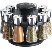 Cole and Mason 10 jar spice rack