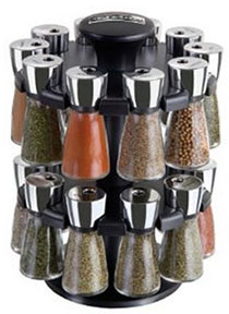 Cole and Mason 20 jar spice rack