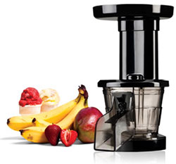 Kuvings Whole Slow Juicer B6000sr Silver Includes Sorbet And Smoothie Strainer : Amazon.com: Kuvings 200SM Frozen Dessert Maker Attachment for Kuvings SC/SE Series Juicer, Black ...