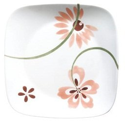 Corelle Square 16-Piece Set in Pretty Pink  sc 1 st  Amazon.com & Amazon.com | Corelle Pretty Pink Square 16-Piece Dinnerware Set ...