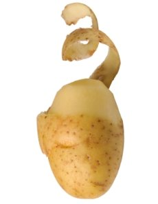 Image result for peeled potato