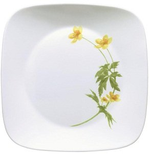 Corelle Square 16-Piece Set in Buttercup  sc 1 st  Amazon.com & Amazon.com | Corelle Square Vitrelle 16-Piece Dinnerware Set ...