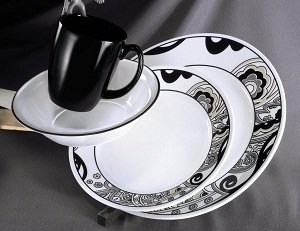 Product description & Amazon.com | Corelle Vive 16-Piece Dinnerware Set Nouveau ...