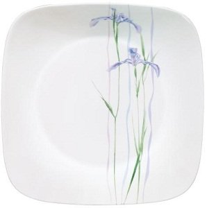 We stand behind our dinnerware with a 3 year break and chip limited warranty. The ergonomic design makes it easy to handle. It also allows the dishes to ...  sc 1 st  Amazon.com & Amazon.com: Corelle Square 16-Piece Dinnerware Set Shadow Iris ...