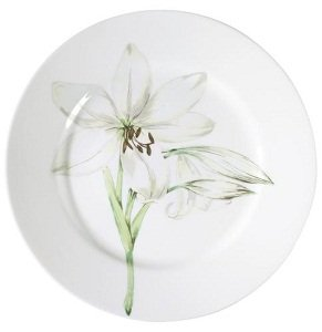 If you have a country kitchen motif or an artistic eye you will adore this lovely dinnerware.  sc 1 st  Amazon.com & Amazon.com | Corelle Impressions White Flower 16-Piece Dinnerware ...