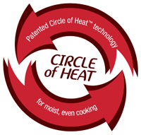 4818-24PR Patented Circle of Heat Technology