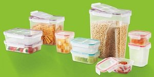 Snapware Airtight 11 Cup Slim Rectangular Food Storage Container With Flip  Top Lid