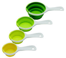 Sleekstor Pinch+Pour Measuring Cups - Green Tonal Group - resized