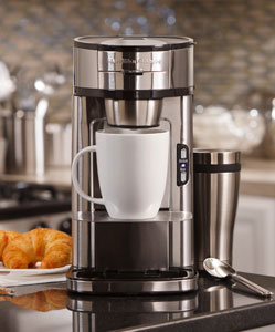 Image result for single cup coffee maker