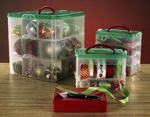 Amazoncom Snapware 12 x 12 Ornament Box 3 Layer Home  Kitchen