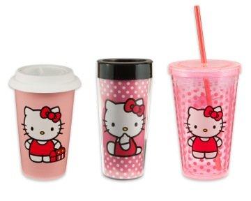 Amazon.com: Vandor 18062 Hello Kitty 18 oz Oval Ceramicl