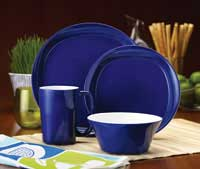 Amazon.com | Rachael Ray Dinnerware Round and Square 16-Piece ...