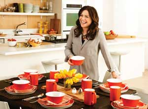Rachael Ray Dinnerware Round and Square 16-Piece Dinnerware Set Yellow  sc 1 st  Amazon.com & Amazon.com | Rachael Ray Dinnerware Round and Square 16-Piece ...