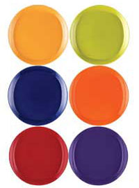 Mix and match your favorite  sc 1 st  Amazon.com & Amazon.com | Rachael Ray Dinnerware Round and Square 16-Piece ...
