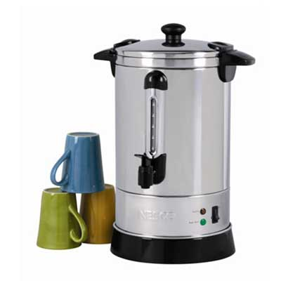 CU-30 Coffee Urn Features Green Indicator Light