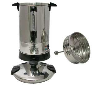 CU-30 Coffee Urn Features Twist-lock Lid