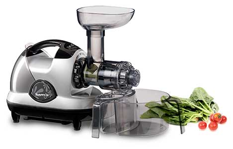 Amazon.com: Kuvings NJE-3580U Masticating Slow Juicer, Silver: Electric Masticating Juicers ...