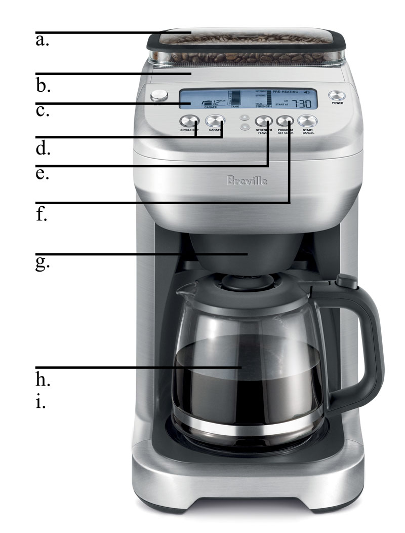 Amazon.com: Breville BDC550XL The YouBrew Glass Drip Coffee Maker: Kitchen & Dining
