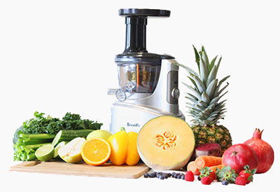 Kale In Slow Juicer : Amazon.com: Breville BJS600XL Fountain Crush Masticating Slow Juicer: Electric Masticating ...
