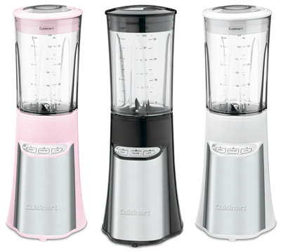 Choose Pink, White, or Black with Stainless