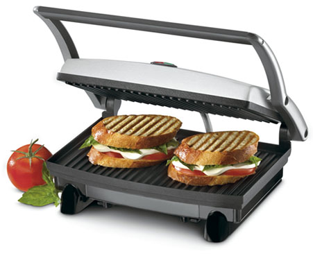 cuisinart gr 1 griddler panini and sandwich. Black Bedroom Furniture Sets. Home Design Ideas