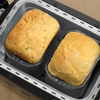 2 1-lb loaves
