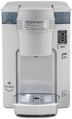 Cuisinart SS-300 Single Serve Brewing System, Silver - Powered by Keurig 1